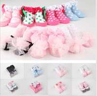 baby room flooring - 19 Style Baby Girls Room Socks Children Clothes Princess Pure Cotton Lace Short Socks Kids Cloth Floor Socks pairs cm K2221