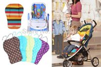 Wholesale Baby stroller cushion cotton pad dining chair general dot cushion cotton thick mat cover child cart seat A5