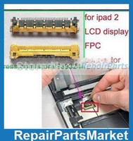 Cheap Wholesale-5pcs lot New FPC connector Adapters for iPad 2 LCD display screen free shipping,