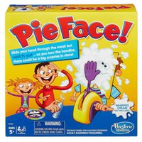 Wholesale 2016 Korea Running Man Pie Face Game Pie Face Cream On Her Face Hit The Send Machine Paternity Toy Rocket Catapult Game Consoles