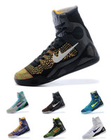 best high top basketball shoes - 2016 Hot selling new arrival Basketball shoes Men s best quality K IX ELITE perspective high top basketball Boots for men
