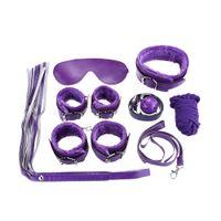 Wholesale Adult Sex Game Pack Versatility Kit Adult Sexual Racy Leather Bondage Suit Flirting Adult Games