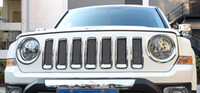 Wholesale Chrome Front Grill Mesh Grille Insert Cover Trim For Jeep Patriot