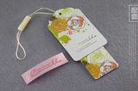 1 clothing labels - 500PCS shipping DIY custom clothing label personalized labels custom hang tags custom shirt tag labels DPN070
