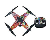 Wholesale Graphic Wrap Decal Skin Sticker for Zero Explorer Xplorer RC Quadcopter Drone multicopter mutlirotor accessories