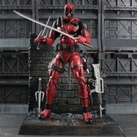 best marvel movies - 2016 New Marvel Movie DEADPOOL Inch Movie Action Figure Deadpool Marvel Universe X Men Collectors Edition Toys Best Gifts for Children