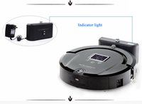 Wholesale AmTidy A320 Multifunction Intelligent Robot Vacuum Cleaner with Sweep Vacuum Mop Sterilize LCD Touch Screen Schedule Self charge