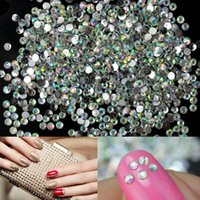 Wholesale 1440x Hot Sale Multicolor Nail Art Tips Crystal Glitter Rhinestone Craft DIY Decoration
