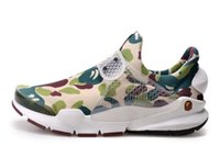 camouflage shoes - Limited Popular fragment Sock Dart SP Lode camouflage Casual Shoes fashion Men Women Sports Running Shoes ape man abc size