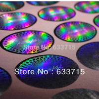 Wholesale free design certificate hologram printing label sticker void if removed