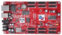 area player - BX YQ1 Multi Media player Control area asynchronous full color led control card P10 LED Display controller