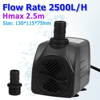 Wholesale 2500L H GPH Aquarium Submersible Water Pump UK with Adjustable Flow Rate for Fresh and Sea Water Aquarium
