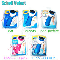 diamond tools - Best Scholl Velvet Smooth Soft Diamond Amope Express Pedi perfect Bectronic Foot File Hard Skin Remover Smooth without Battery Unpacked tool