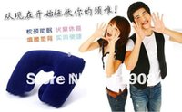 air pillow packing - OPP pack quot U quot inflatable pillow utility travel air pillow Cervical pillow for health care product Christmas