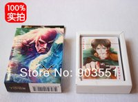 attack shaft - Amine Attack on Titan Shingeki no Kyojin Cosplay Poker Playing Cards Game Card Cosplay Toy