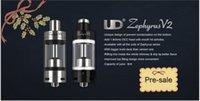 UD Zephyrus V2 réservoir Goblin Rta OCC Coil RBA bobines 0.2ohm 0.3ohm 0.5ohm 5ml Sous ohms réservoir d'origine 100%