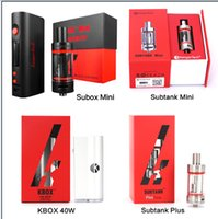 hot - HOT Original Kanger subox mini subtank mini Kbox w subtank plus Gift box DHL