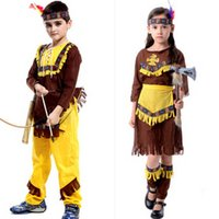 apparel warrior - Childrens Kids Boys Girls Indian Princess Dress Cosplay Soldiers Warrior Fancy Dress Fun Theme Apparel Ornament