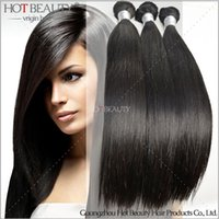Wholesale 5A Qualified Softest And Smoothest Peruvian Virgin Remy Human Hair Weaves Straight Extensions No Shed No Tangle