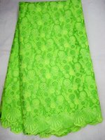 Wholesale african lace fabric swiss voile lace yard pc J354