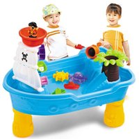 activity table set - Pirate Corsair Sand and Water Activity Play Table Beach Toys Set