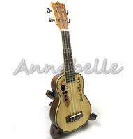 Wholesale 21 quot quot inch Ukulele Small Guitar Spruce Sapele Musical Instruments Uke Four Strings