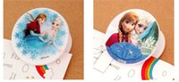 Wholesale 2015 Hot sale cartoon frozen anna elsa princess snow queen clips book memo clip student stationery DHL