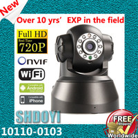 Wholesale Wifi camera ip Wireless Alarm systems security home Onvif Infrared surveillance CCTV motion detector cameras wifi network Shdoyi