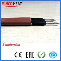 12 mm mayor-120 / 220V Ancho 35w / m, 20 Metros Auto Regulación Techo Deshielo Calefacción Cable