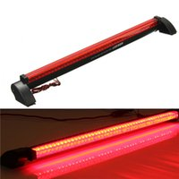 Wholesale Universal Red LED Auto Third Brake Rear Tail Light High Mount Stop Lamp V order lt no tracking
