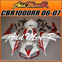 body kit - Addmotor Best Selling Injection Mold Fairings Fit Honda CBR1000RR CBR RR Body Kit Red White H1656 Five Free Gifts