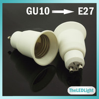 adapter e27 to gu10 - 50PCS GU10 to E27 Adapter Socket Holder Converter GU10 to E27 For LED Light Bulbs
