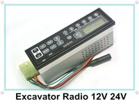 Wholesale M103 AM FM V V Worldwide Frequency LED Light Car Excavator Radio