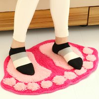 Wholesale Lovely big suction foot mat the door MATS bathroom cartoon door mat The bedroom carpet toilet mat