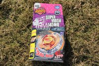 Wholesale 1 piece Beyblade BB50 SUPER VIRGO MQ Metal Fury Beyblade Without Launcher