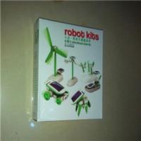 Wholesale DIY Car CCTV Recommends Piece Assembly Solar Toys Liuhe Toys DIY Solar Car Exquisite box