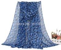 butterfly scarf silk - 10PCS New Fashion Style Heart Butterfly Scarves Women s Scarf Long Shawl Spring Silk Pashmina Chiffon Infinity Scarf