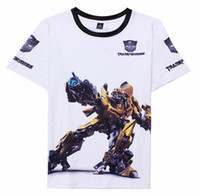 autobot shirt - 2016 New hot American hero short sleeve t shirt Transformers Autobot Optimus Prime absorbent Lycra t shirt JD