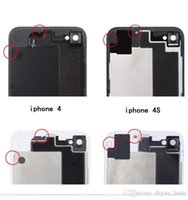 Wholesale Replacement Back Glass Battery Housing Door Back Cover Replacement Part With Flash Diffuser For iphone G S