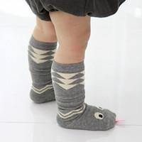 al por mayor bebé serpiente año-2016 calcetines del cabrito para 1-3 años de edad bebé Interesante lindo serpiente niños Medio corto calcetín * 10