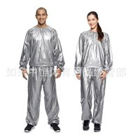 slimming sauna suits - Weight loss sauna suit sweat clothes clothing men and women lose weight slimming Workout clothes diet L XXXL