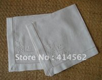 embroidery work - 100 linen table cloth hotel deluxry napkins embroidery napkins embroidery mat drawn works