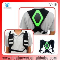 best riders - Best safety adjustable running vest for outdoor sporting runner or bike rider at night visibility up to m