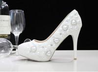 Zapatos Tacon Blancos Baratos