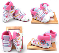 Wholesale lapel baby shoes star toddler shoes sports casual walking shoes M children shoes soft infant sneakers pairs C