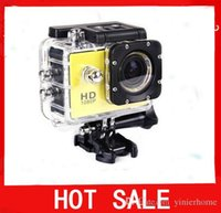 Wholesale SJ4000 HD action camera Mini Camcorders Sport Camera for Gopro Waterproof Novatek Inch Degree CAR