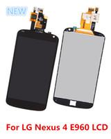 nexus 4 - Full Front LCD Display Touch Screen Digitizer Repair For LG E960 Google Nexus