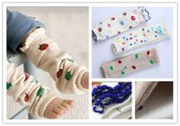 adult striped leggings - 2016 Baby cute flower Leg Warmers children boys girls ladybug kids Tight leggings adult Arm warmers