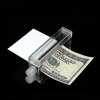 Wholesale Novelty Cash Banknote Printer Money Printing Machine Magic Trick Tool Kit Tricking Toy Gift