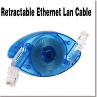 Wholesale New Arrival M RJ45 CAT5E Retractable Ethernet Lan Internet Network Cable Cord Telescopic Connecting for Computer PC